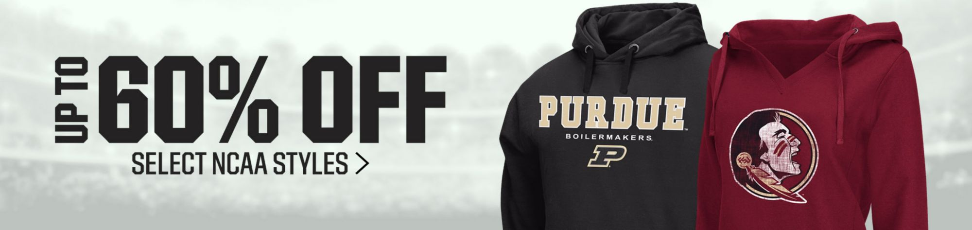 Save On Select NCAA Apparel