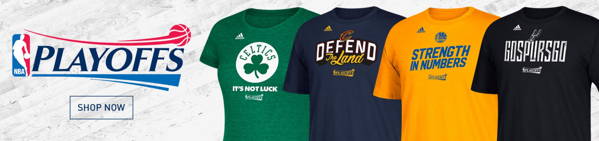 NBA 2017 Playoff Team Gear