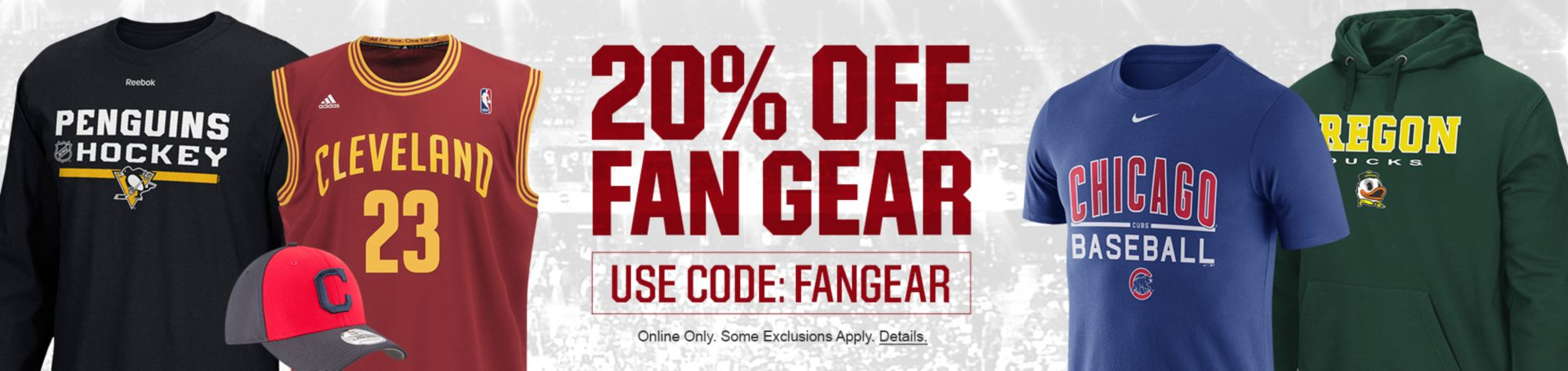 20% Off Fan Gear - 2 Days Only! Use Code: Fangear