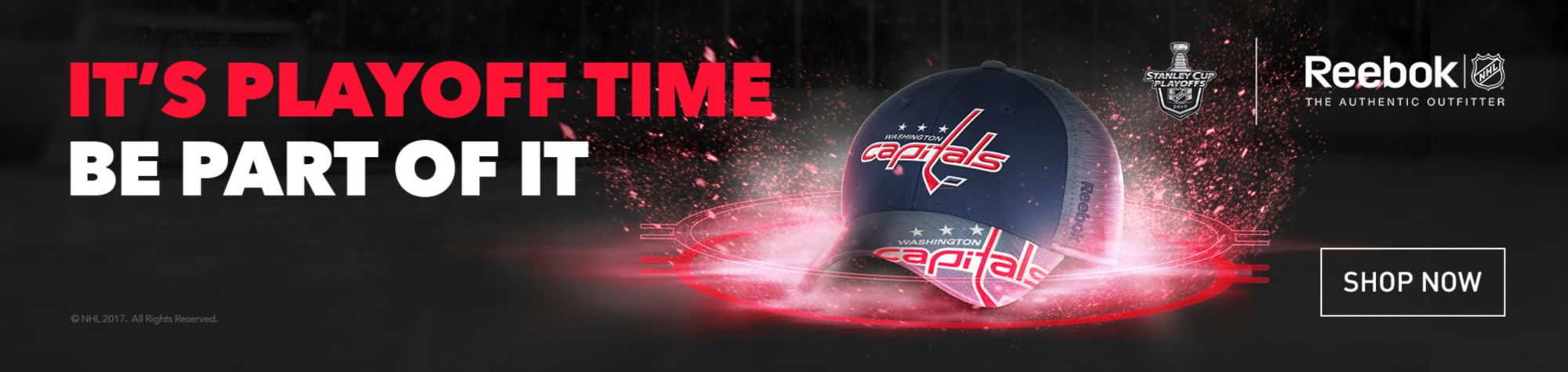 NHL Reebok Playoffs - Washington Capitals