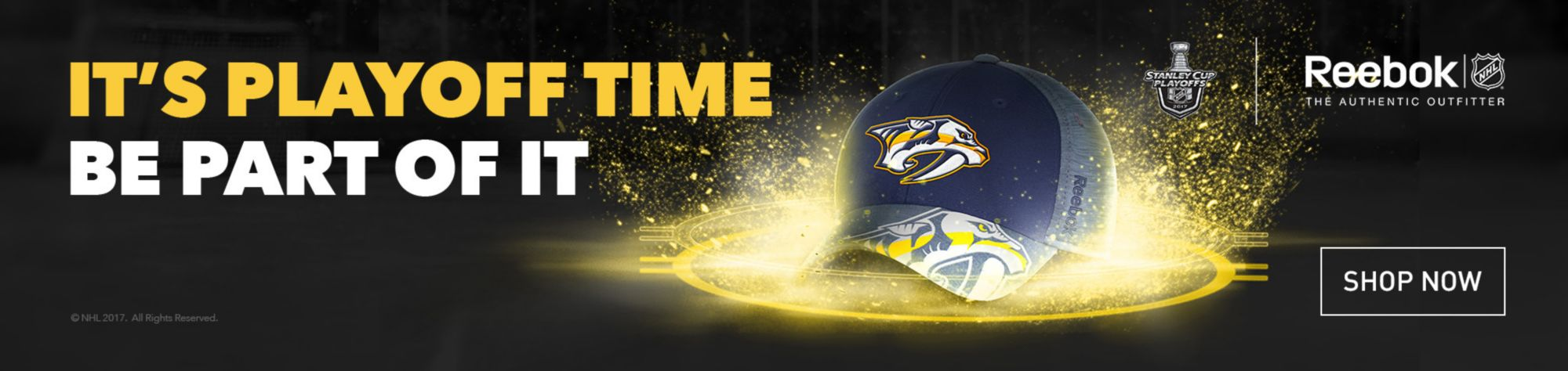 NHL Reebok Playoffs - Nashville Predators