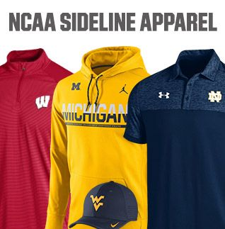 Shop NCAA Sideline Apparel