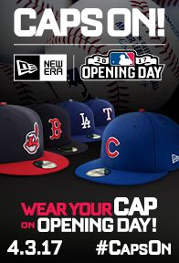 Caps On! Wear Your Cap on Opening Day 4.3.17!