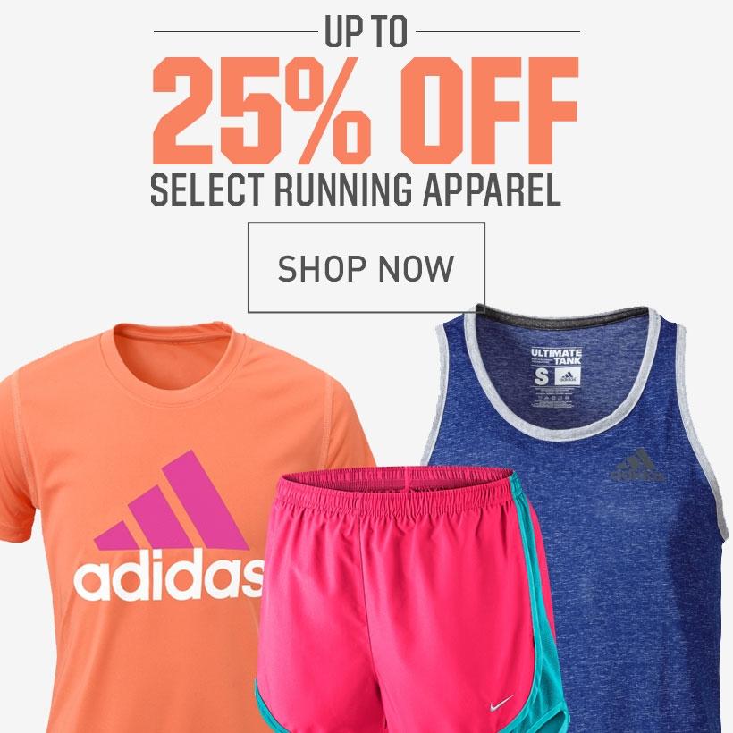 Shop 20% Off Select Running Apparel