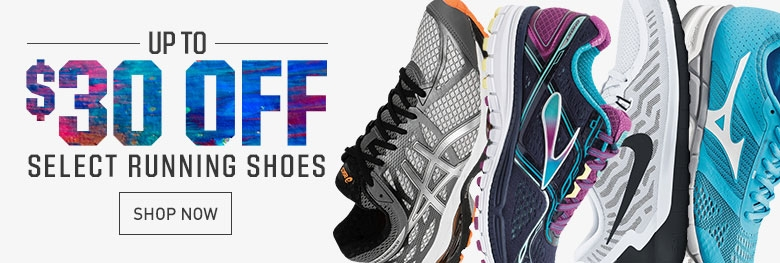 Shop $30 Off Select Running Shoes