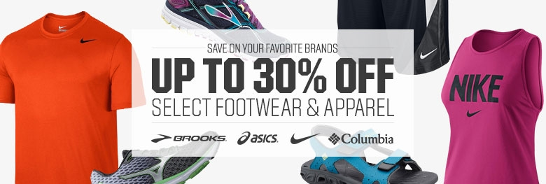 Shop Footwear and Apparel