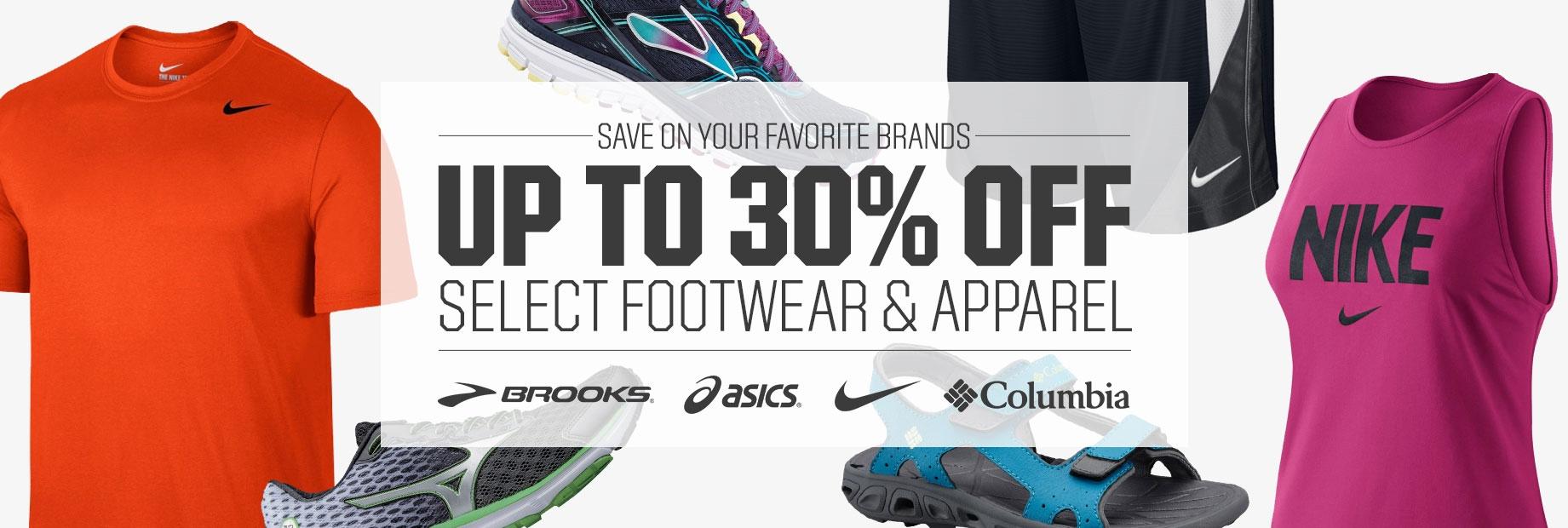 Shop Footwear and Apparel