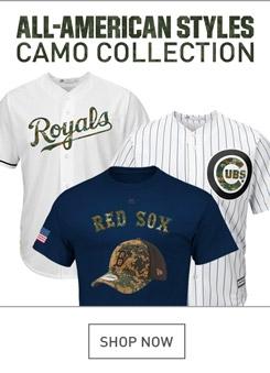 Shop MLB Camo Gear
