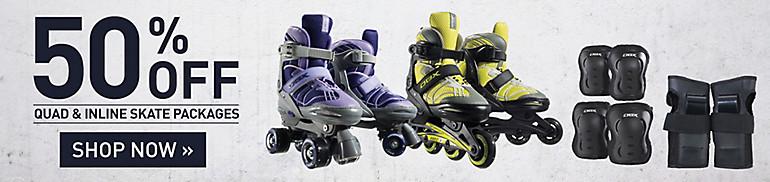Shop 50% Off Skates