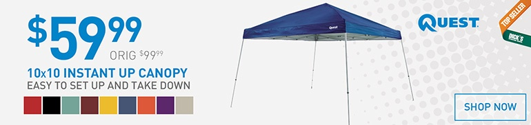 $59.99 Quest 10x10 Canopy