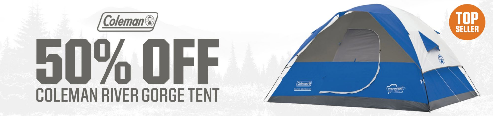 Shop Coleman River Gorge Tents