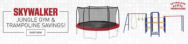 SKYWALKER | Jungle Gym & Trampoline Savings