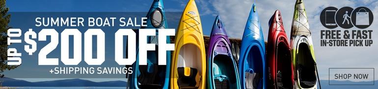 Summer Boat Sale