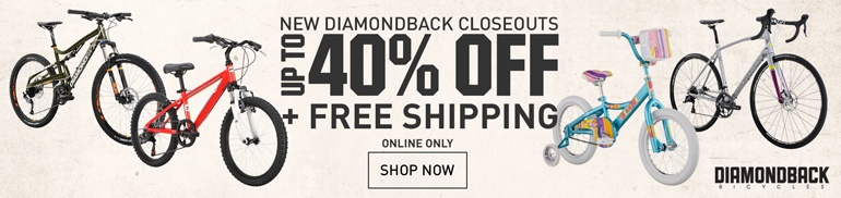 New Diamondback Closeouts - Up to 40% Off
