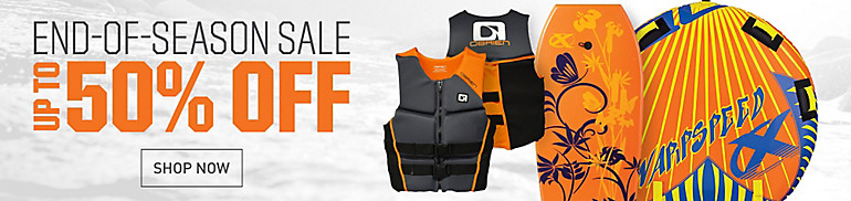 End Of Season Water Sports Sale