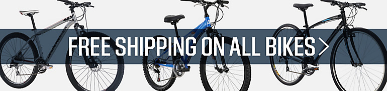 Shop Free Shipping On Bikes