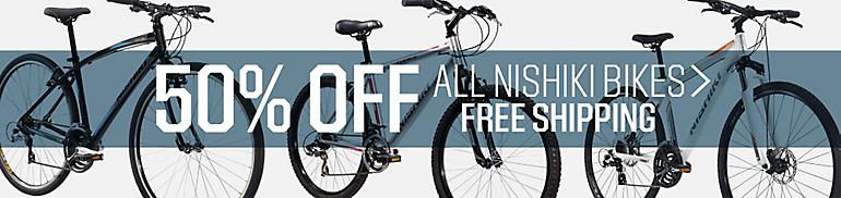 Shop 50% Off Nishiki Bikes