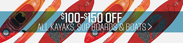 Shop Kayaks, Paddle Boards, And Boats