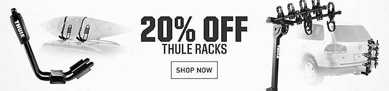 20% Off Thule Racks