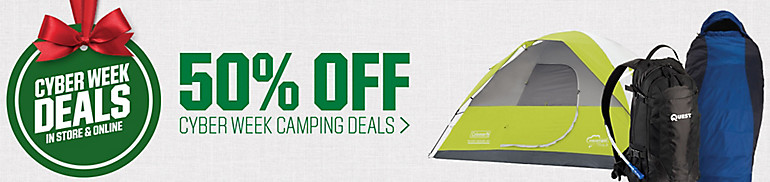 Shop Cyber Week Camping Deals