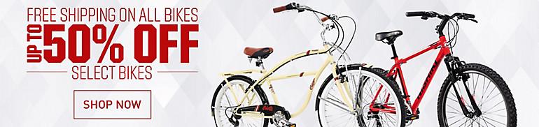 Shop 50% Off Select Bikes