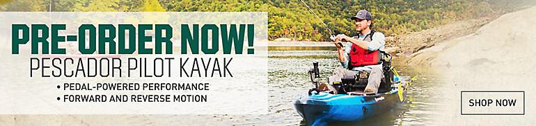 Pescador Pedal Kayak Pre-Order