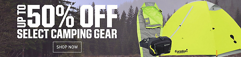 Shop 50% Off Camping Gear