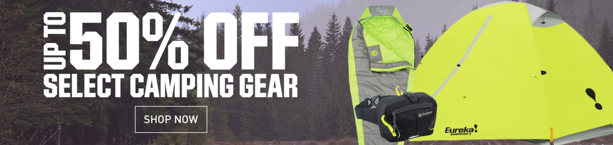 Shop Up To 50% Off Camping Gear
