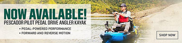 Pescador Pedal Kayak Launch