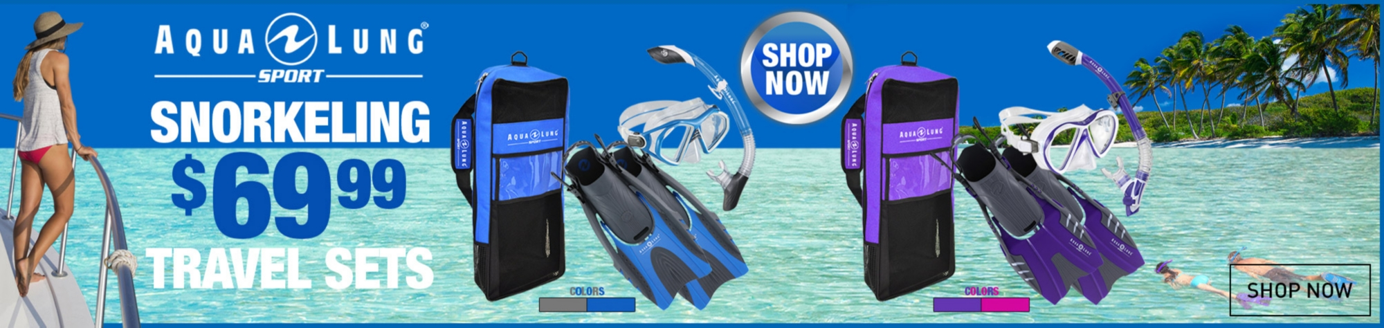 Shop Aqua Lung Snorkeling Equipment