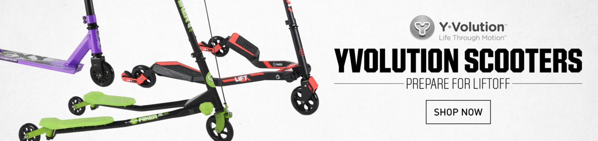 Shop Yvolution Scooters