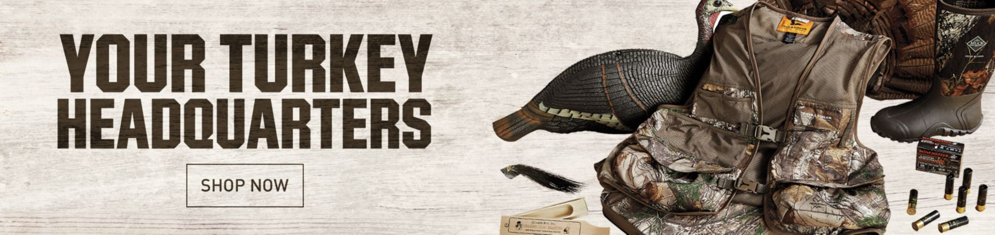Shop Turkey Hunting Gear