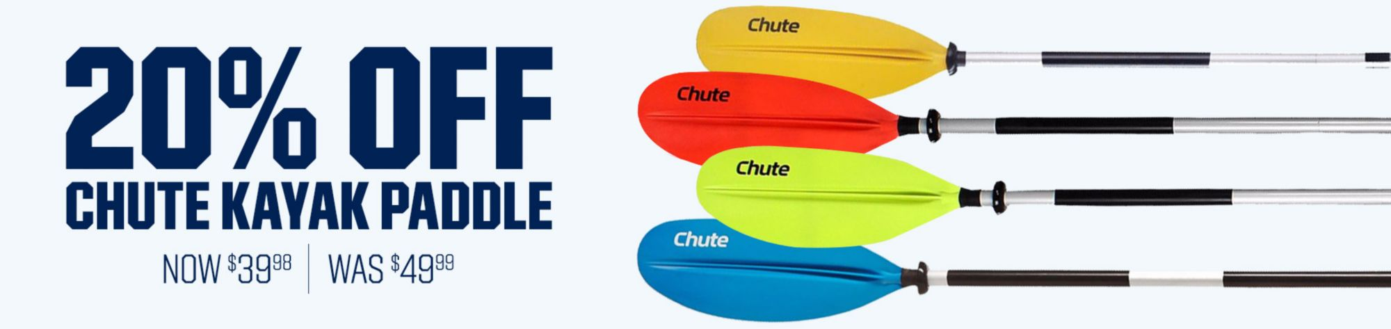 Shop Chute Kayak Paddles