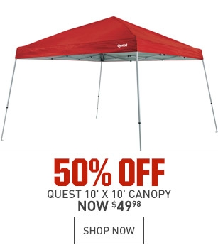 50% Off Quest Canopy