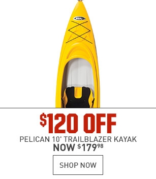 $120 Off Pelican Trailblazer Kayak