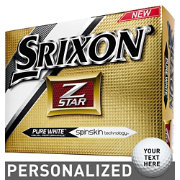 Srixon Z-STAR Personalized Golf Balls