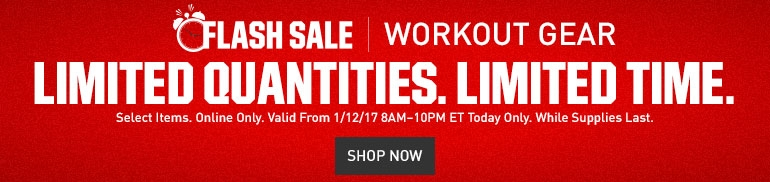 Up To 35% Off Select Fitness Equipment, Apparel and Footwear