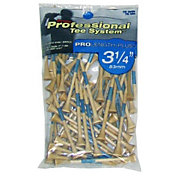 "Pride Sports 3.25"" Natural Golf Tees – 75-Pack"
