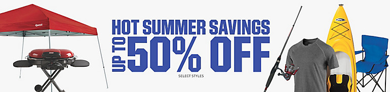 Summer Sale! Up to 50% Off!