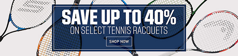 Shop 40% Off Racquets