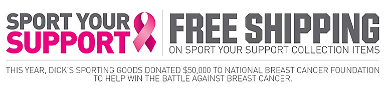 Free Shipping On Sport Your Support Collection Items