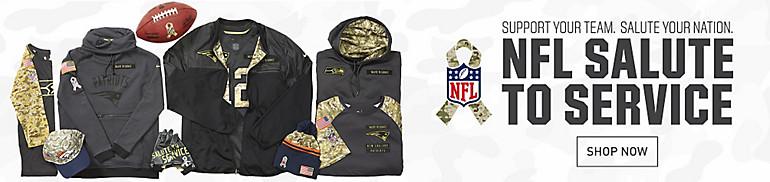 Salute to Service NFL Camo Gear