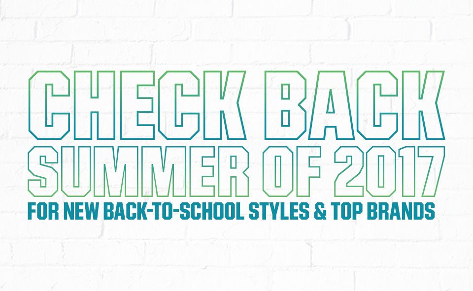Check Back Summer of 2017