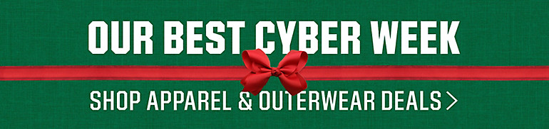 Cyber Week Apparel & Outerwear Deals