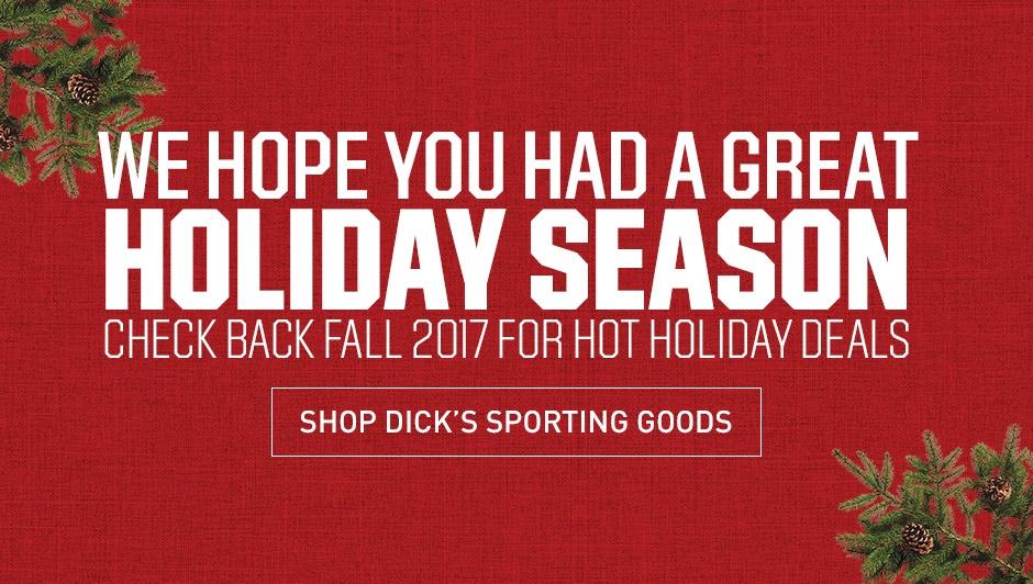 We hope you had a great holiday season - Check back in Fall 2017 for hot holiday deals