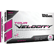 Wilson Women's Tour Velocity Golf Balls – 15-Pack