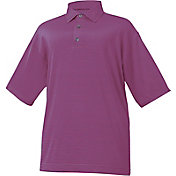 FootJoy Men's ProDry Lisle Mini End on End Stripe Golf Polo