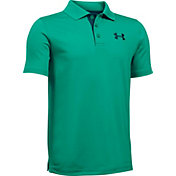 Under Armour Boys' Match Play Golf Polo
