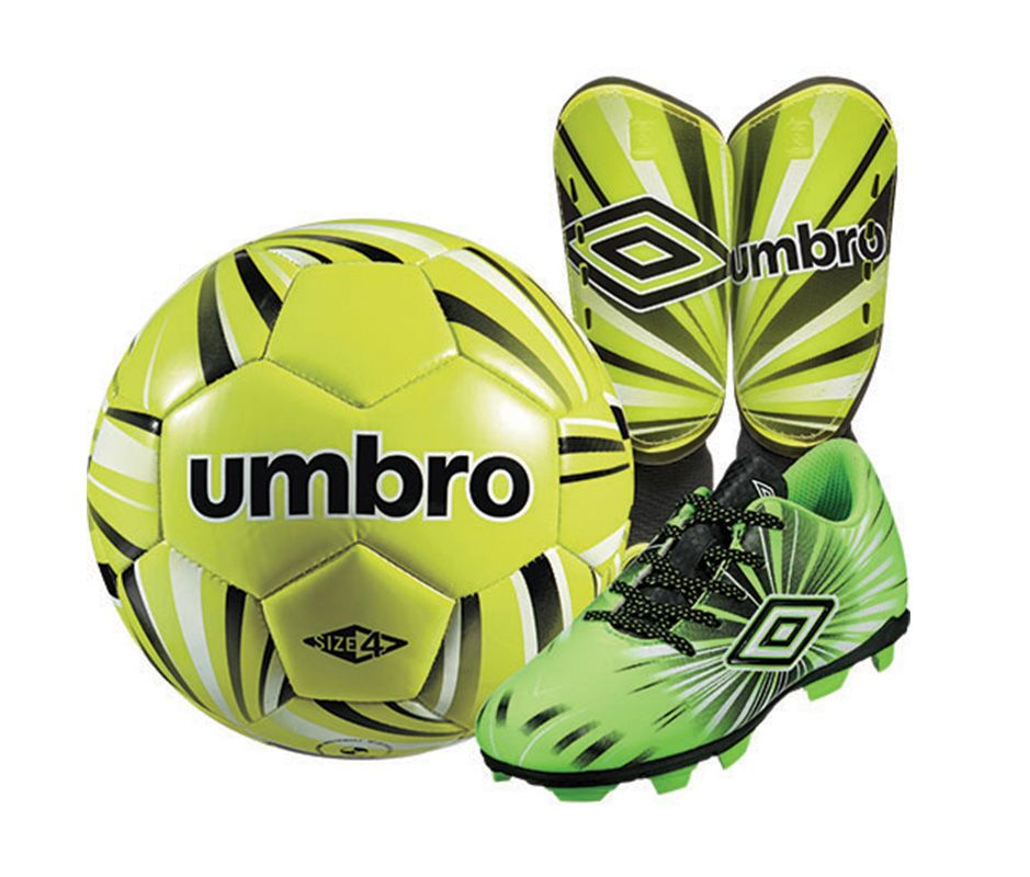 Umbro Youth Soccer Starter Kit - Green