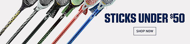 Lacrosse Sticks Under $50